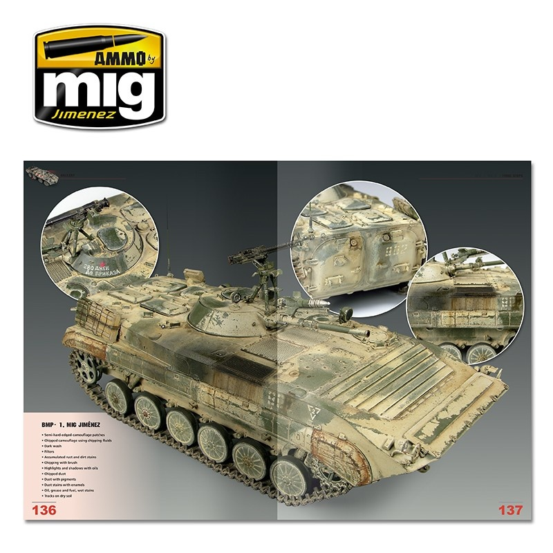 Ammo by Mig Jimenez Encyclopedia Of Armour Modelling Techniques Vol. 5 - Final Touches English - A.MIG-6154