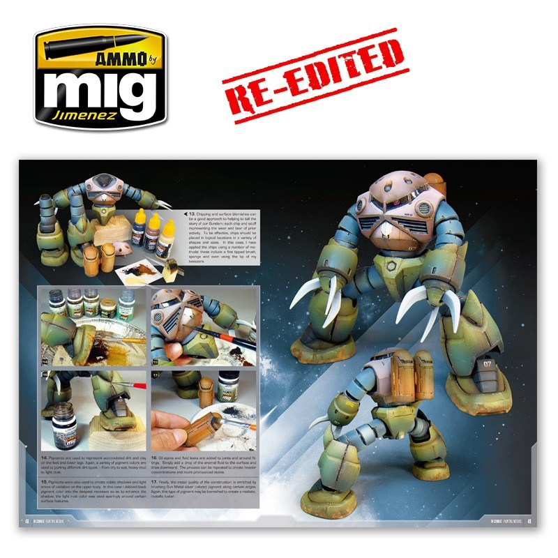 Ammo by Mig Jimenez In Combat - Painting Mechas  English - A.MIG-6013