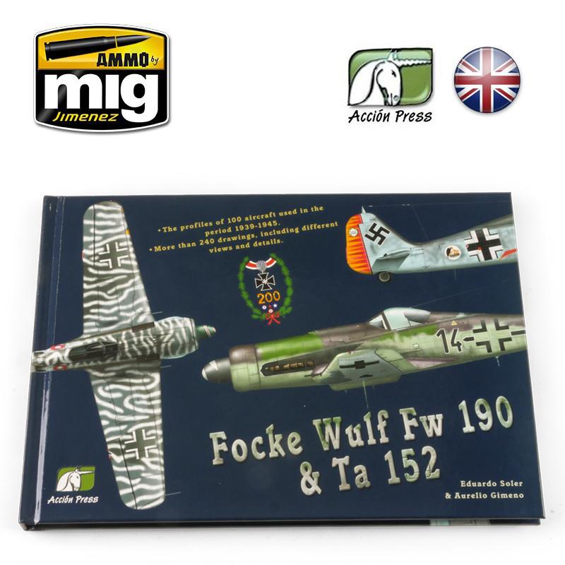 Ammo by Mig Jimenez Focke Wulf Fw 190 & Ta 152English - EURO-0020