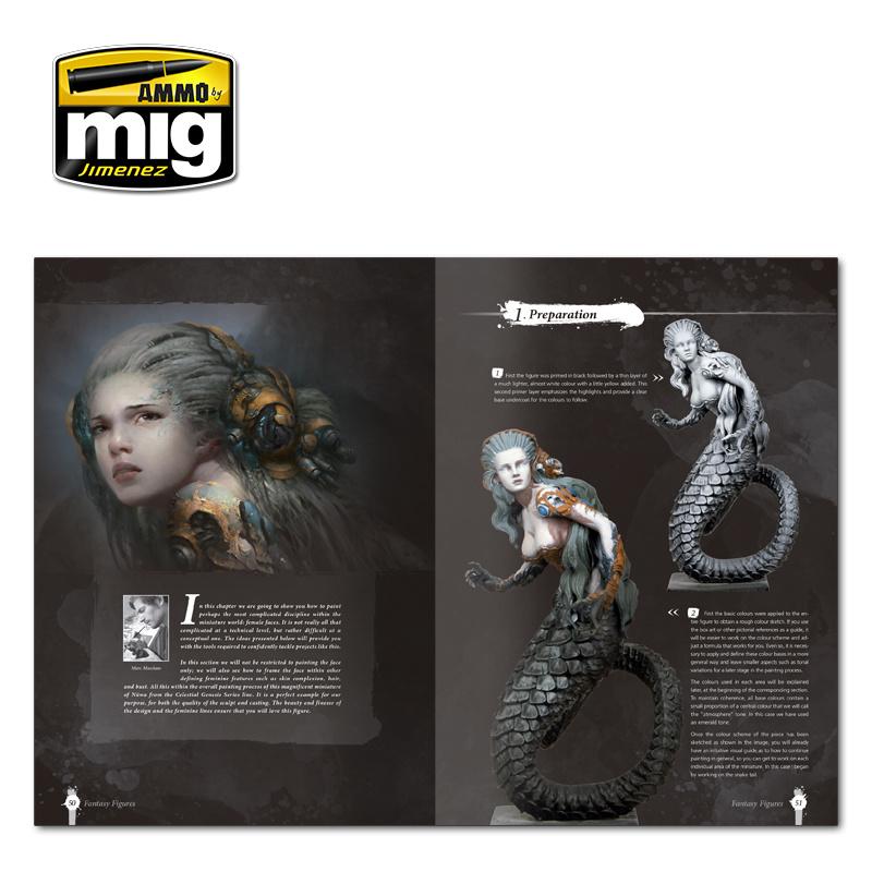 Ammo by Mig Jimenez Painting Secrets For Fantasy Figures English - A.MIG-6125
