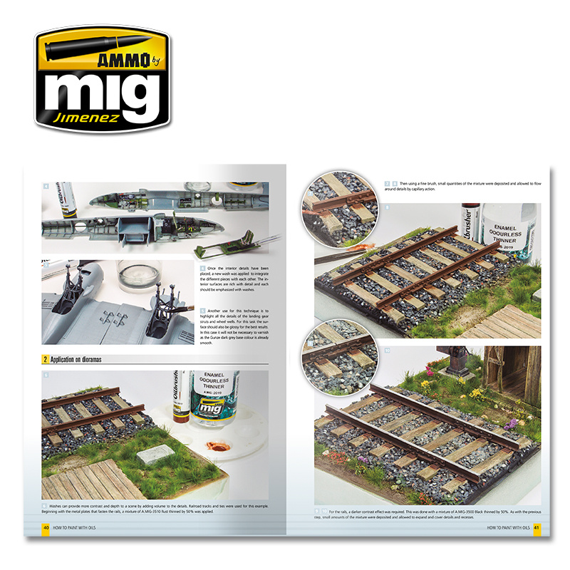 Ammo by Mig Jimenez Modelling Guide: How To Paint With Oils English - A.MIG-6043