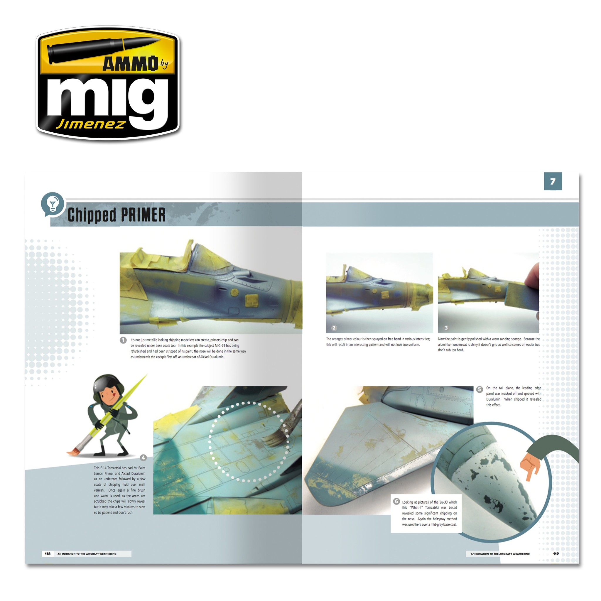 Ammo by Mig Jimenez Modelling School: An Initiation To Aircraft Weathering English - A.MIG-6030