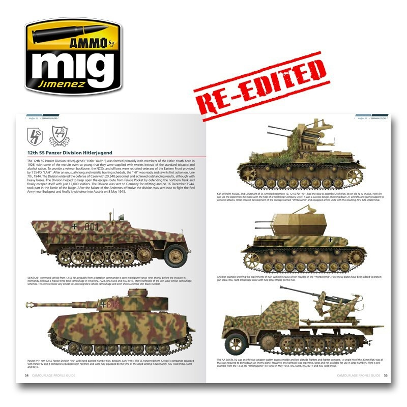 Ammo by Mig Jimenez Ss Camouflage Guide English - A.MIG-6001