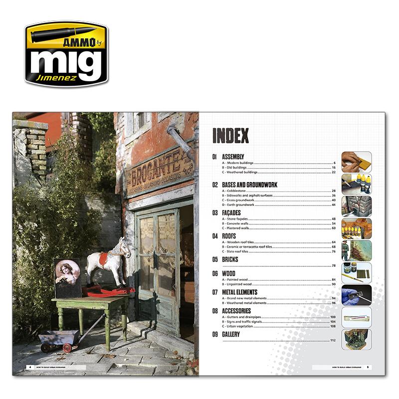 Ammo by Mig Jimenez Modelling School: Urban Dioramas English - A.MIG-6215