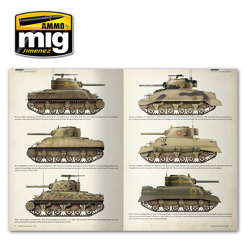 Ammo by Mig Jimenez Sherman: The American Miracle English - A.MIG-6080
