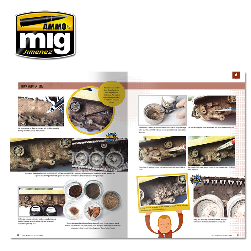 Ammo by Mig Jimenez Modelling School - How To Make Mud In Your Models English - A.MIG-6210