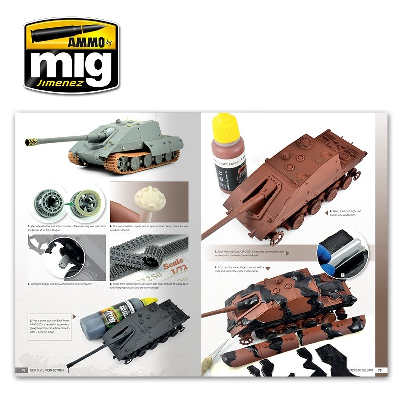 Ammo by Mig Jimenez Next Level: Perfection - Taking 1/72Nd Scale To The Next Level English - A.MIG-6122