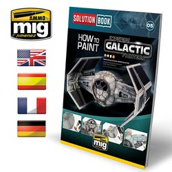 Solution Book 05 How To Paint Imperial Galactic Fighters - Multilingual Book - A.MIG-6520