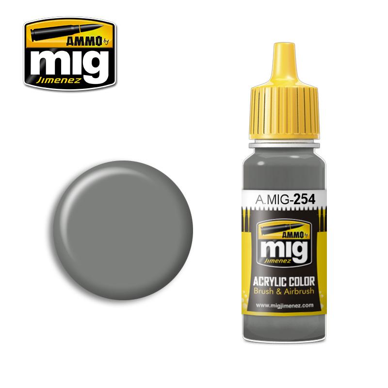 Ammo by Mig Jimenez RLM 75 Grauviolett - 17ml - A.MIG-0254