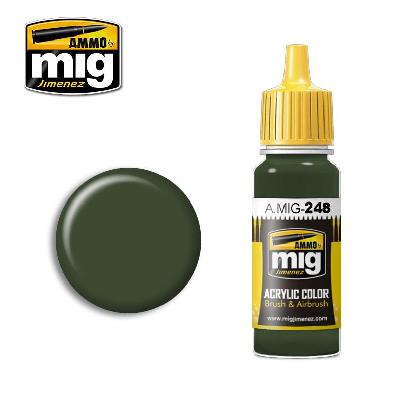 Ammo by Mig Jimenez RLM 80 Olivgrün - 17ml - A.MIG-0248
