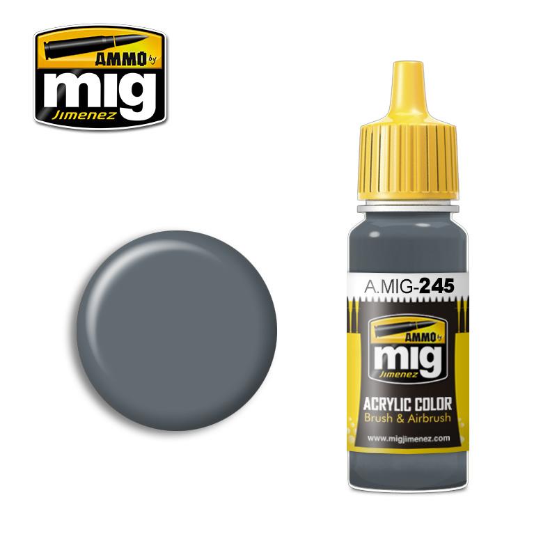 Ammo by Mig Jimenez Ocean Grey (Bs 629) - 17ml - A.MIG-0245