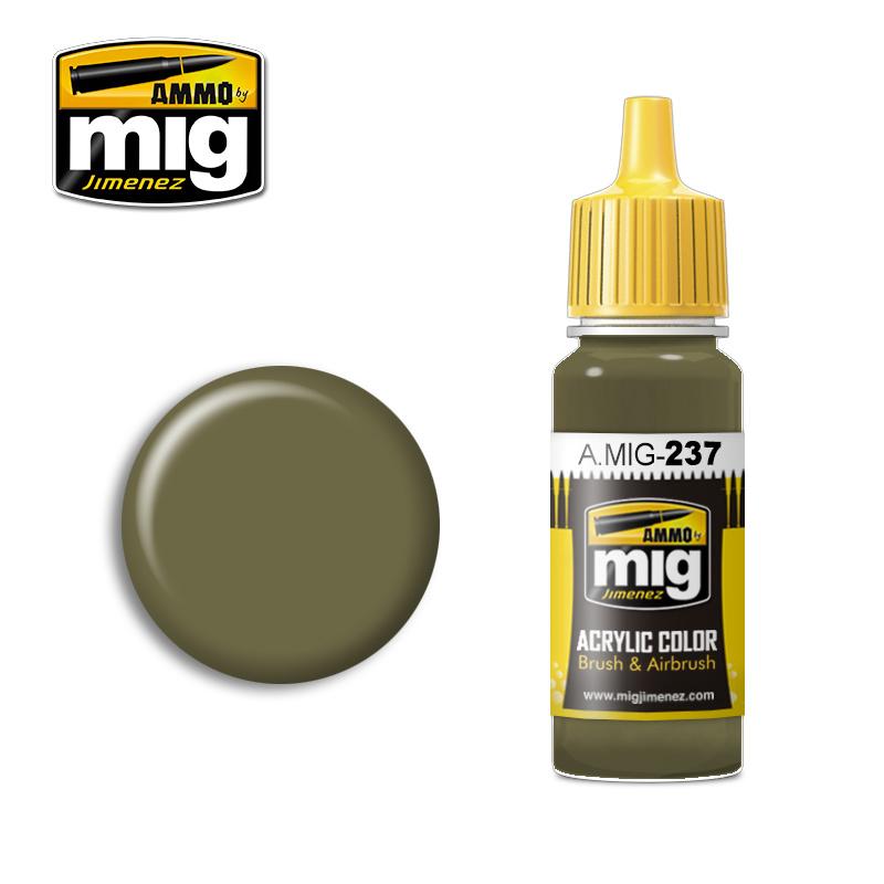 Ammo by Mig Jimenez FS 23070 Dark Olive Drab - 17ml - A.MIG-0237