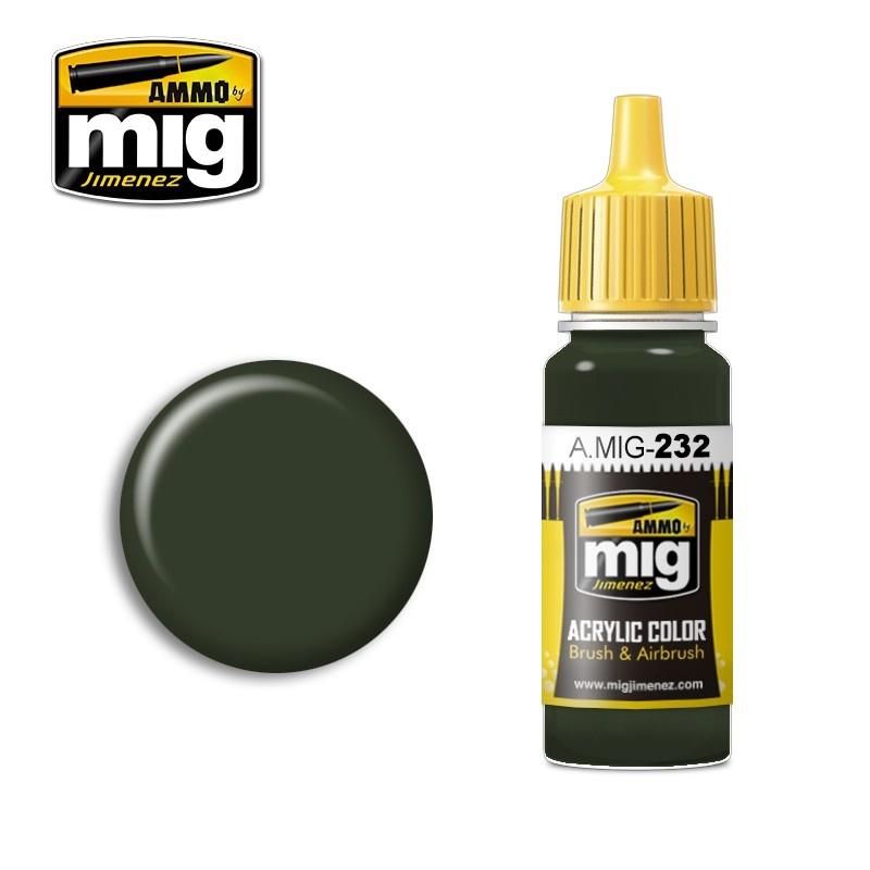 Ammo by Mig Jimenez RLM 70 Schwartzgrün - 17ml - A.MIG-0232