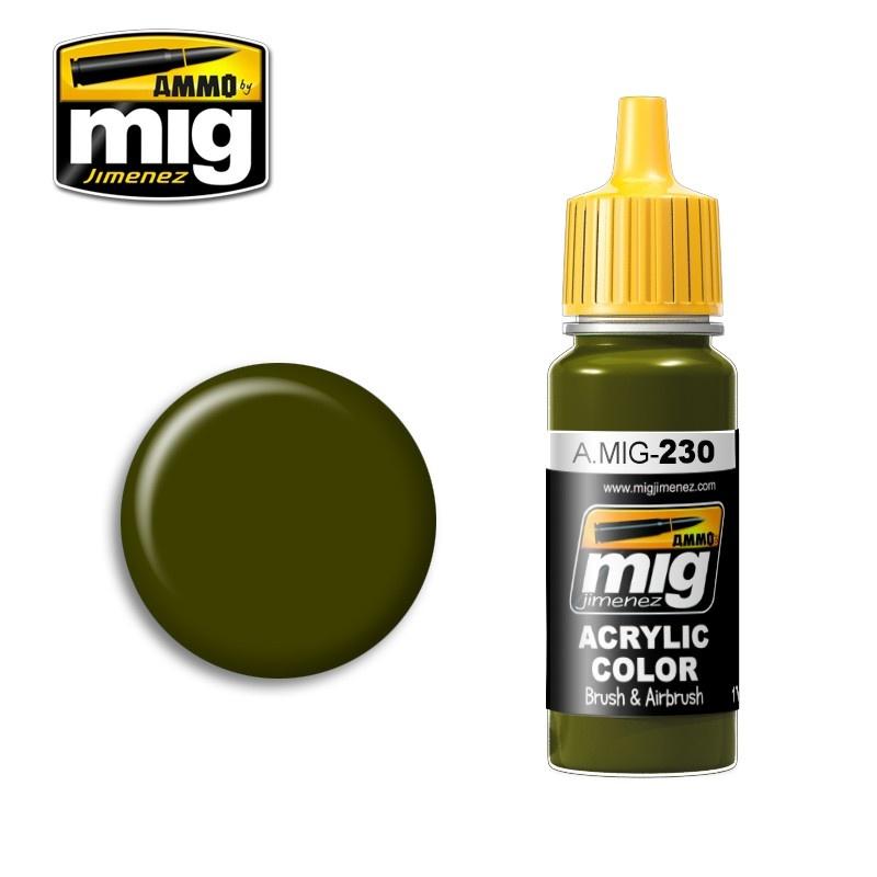 Ammo by Mig Jimenez RLM 82 Camo Green - 17ml - A.MIG-0230