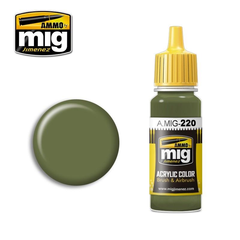 Ammo by Mig Jimenez FS 34151 Zinc Chromate Green (Interior Green) - 17ml - A.MIG-0220