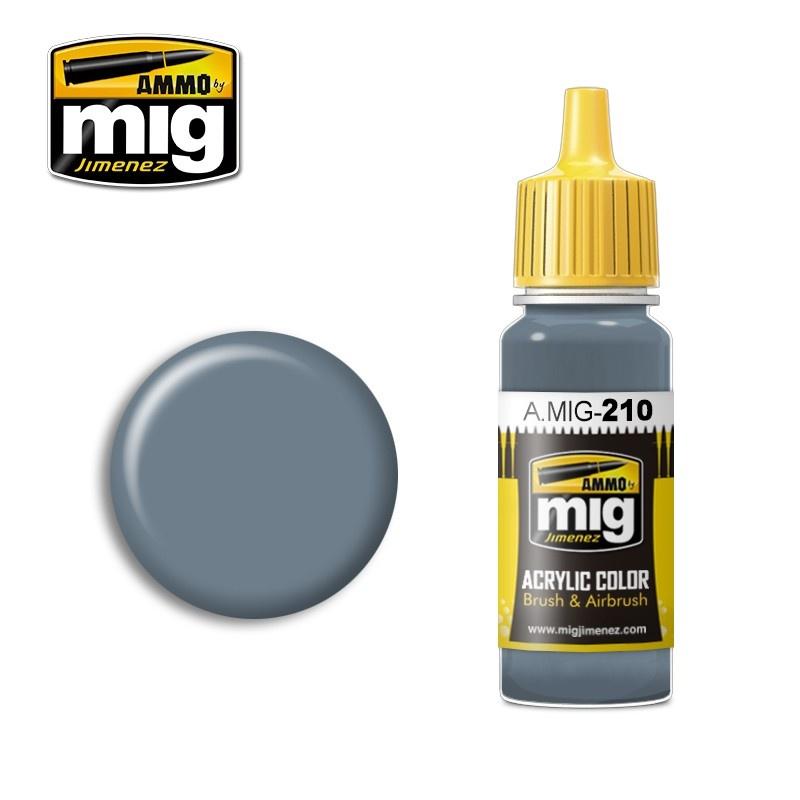 Ammo by Mig Jimenez FS35237 Blue Gray Amt-11 - 17ml - A.MIG-0210