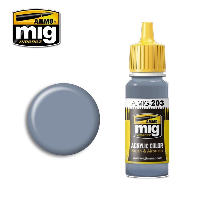 Ammo by Mig Jimenez FS 36375 Light Compass Ghost Gray - 17ml - A.MIG-0203