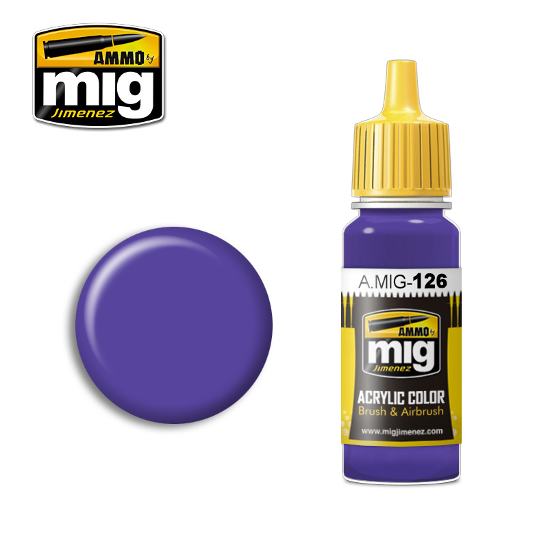 Ammo by Mig Jimenez Violet - 17ml - A.MIG-0126