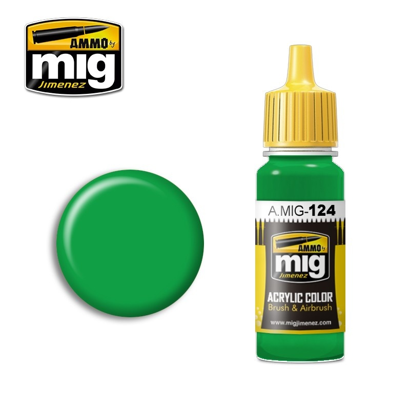 Ammo by Mig Jimenez Lime Green - 17ml - A.MIG-0124