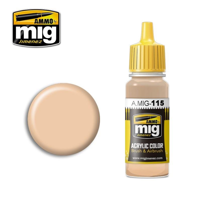 Ammo by Mig Jimenez Light Skin Tone - 17ml - A.MIG-0115