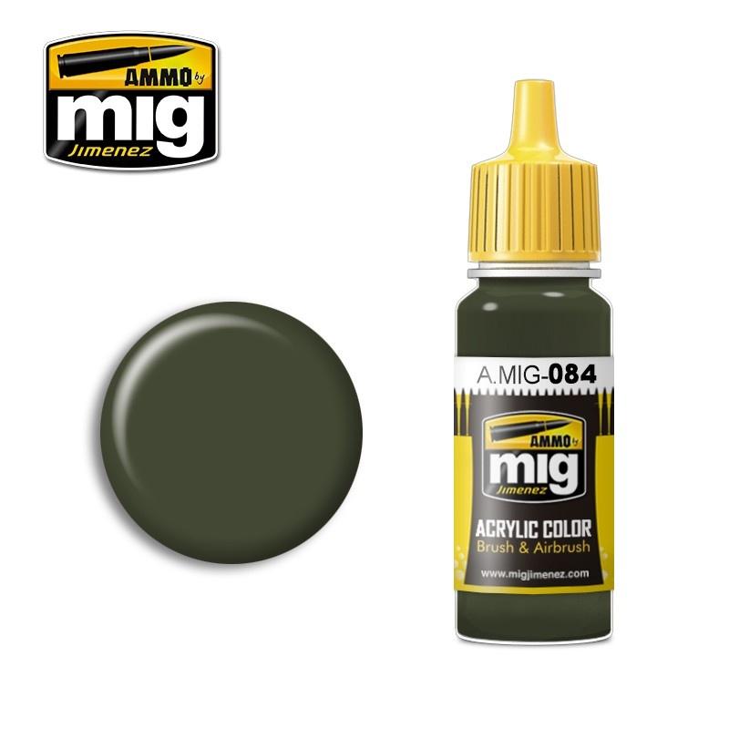 Ammo by Mig Jimenez Nato Green - 17ml - A.MIG-0084