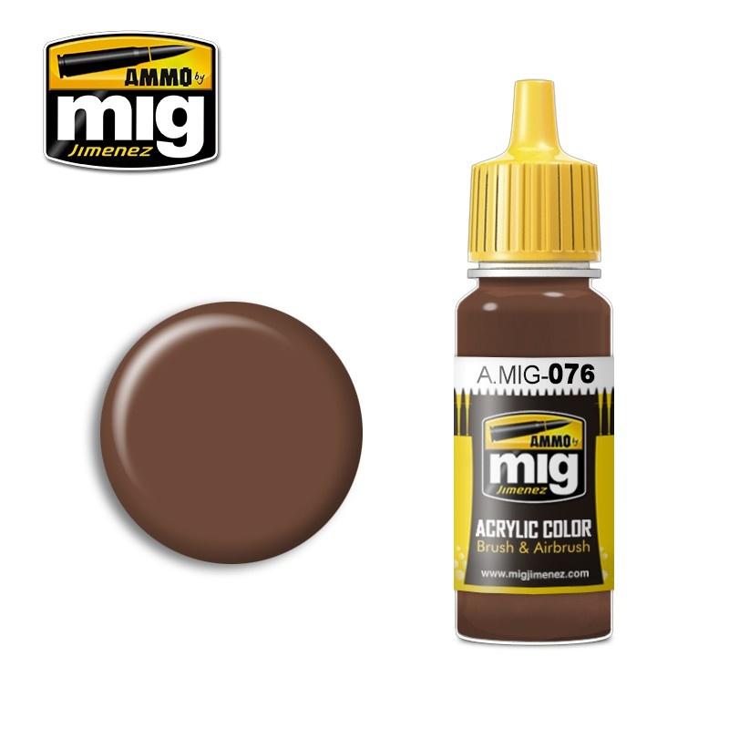 Ammo by Mig Jimenez Brown Soil - 17ml - A.MIG-0076