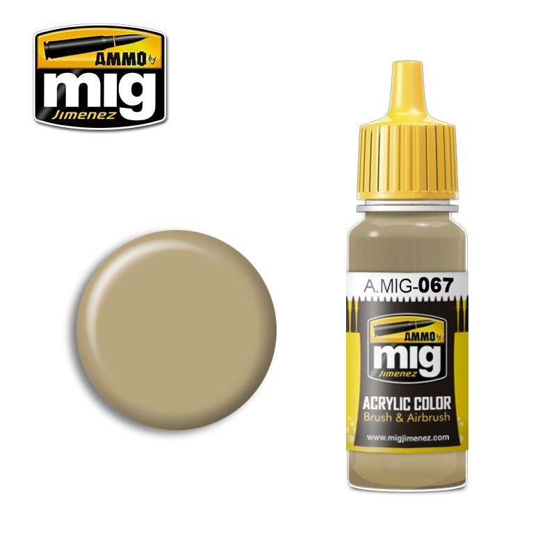 Ammo by Mig Jimenez Light Sand Grey - 17ml - A.MIG-0067