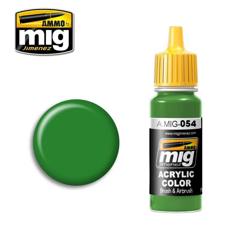 Ammo by Mig Jimenez Signal Green RAL 6032 - 17ml - A.MIG-0054