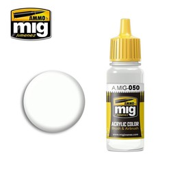 Matt White - 17ml - A.MIG-0050