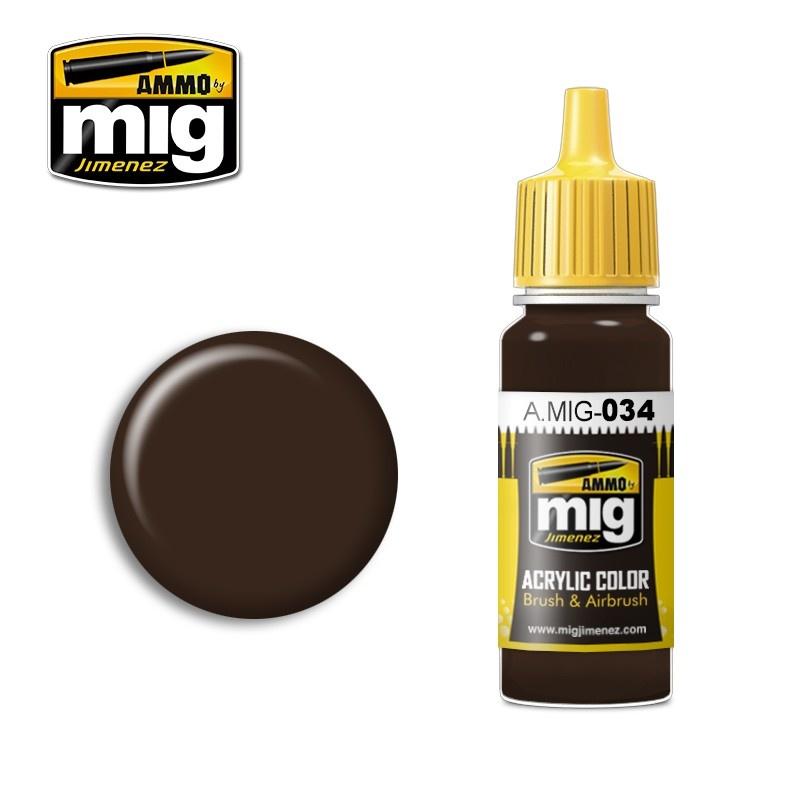 Ammo by Mig Jimenez Rust Tracks - 17ml - A.MIG-0034