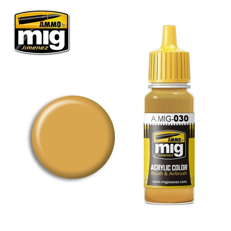Ammo by Mig Jimenez Sand Yellow - 17ml - A.MIG-0030