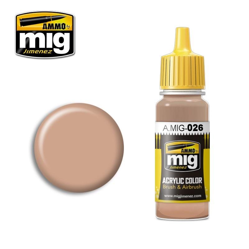Ammo by Mig Jimenez Sand Brown - 17ml - A.MIG-0026