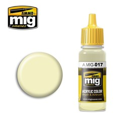 Ral 9001 Cremeweiss - 17ml - A.MIG-0017