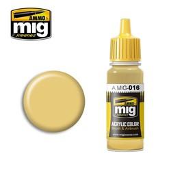 Ral 8020 Gelbbraun - 17ml - A.MIG-0016