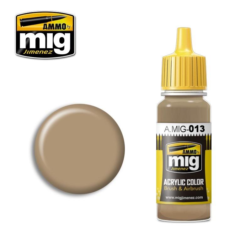 Ammo by Mig Jimenez Ral 8000 Gelbbraun - 17ml - A.MIG-0013