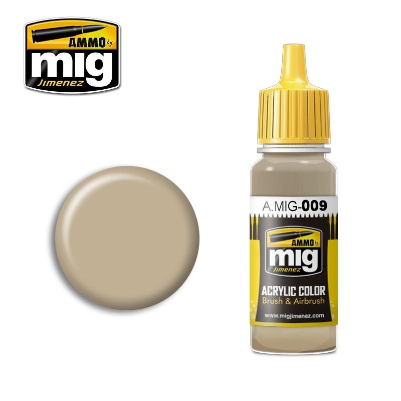 Ammo by Mig Jimenez Ral 7027 Sandgrau - 17ml - A.MIG-0009