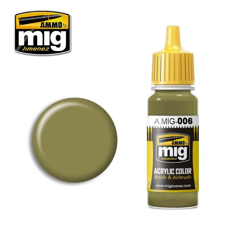 Ammo by Mig Jimenez Ral 7008 Graugrün Opt.2 - 17ml - A.MIG-0006