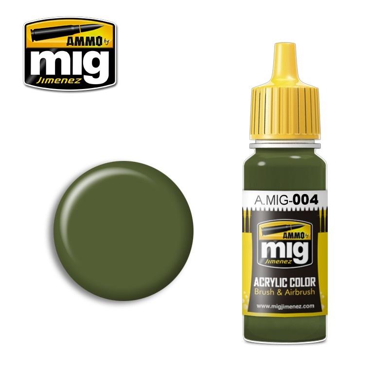 Ammo by Mig Jimenez Ral 6011 B Resedagrün - 17ml - A.MIG-0004