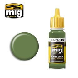 Ral 6011 Resedagrün - 17ml - A.MIG-0003