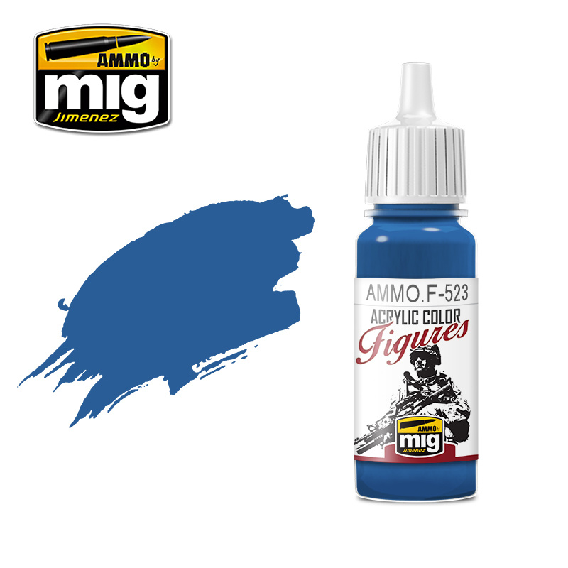 Ammo by Mig Jimenez Figure Series Uniform Blue - 17ml - AMMO.F-523