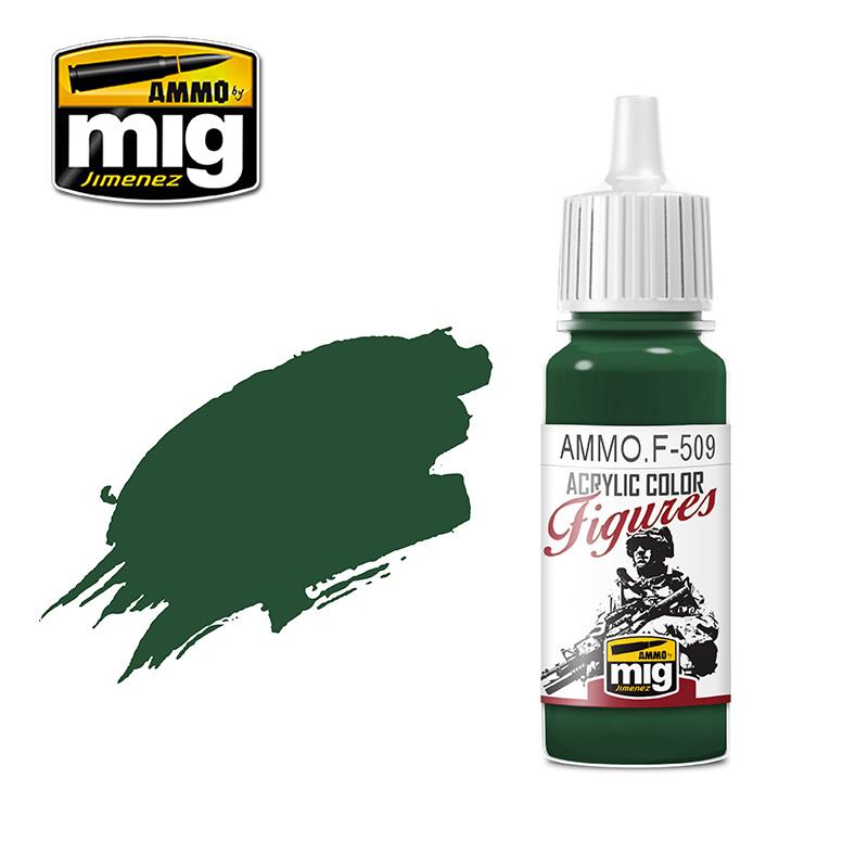 Ammo by Mig Jimenez Figure Series Uniform Green Base FS-34128 - 17ml - AMMO.F-509