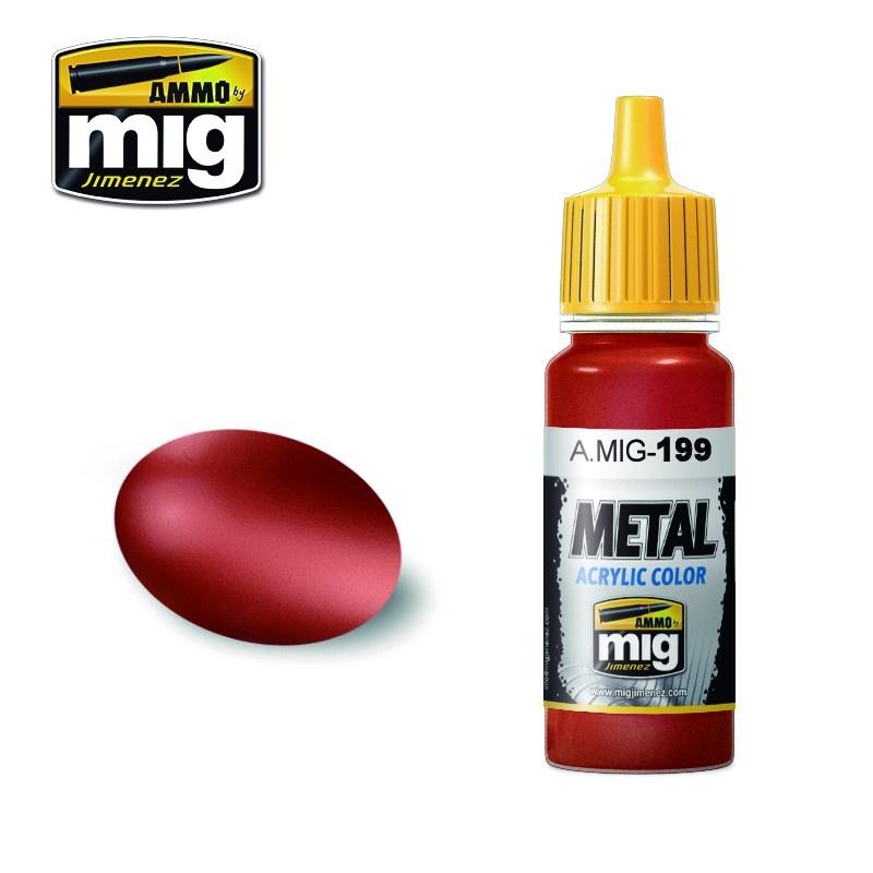 Ammo by Mig Jimenez Metal Acrylics - Copper - 17ml - A.MIG-0199