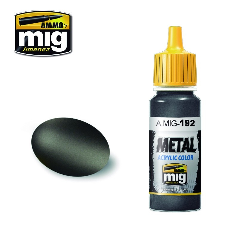 Ammo by Mig Jimenez Metal Acrylics - Polished Metal - 17ml - A.MIG-0192