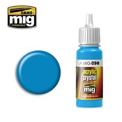 Crystal Acrylics - Crystal Light Blue - 17ml - A.MIG-0098