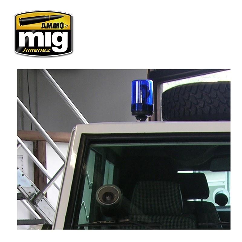 Ammo by Mig Jimenez Crystal Acrylics - Crystal Light Blue - 17ml - A.MIG-0098