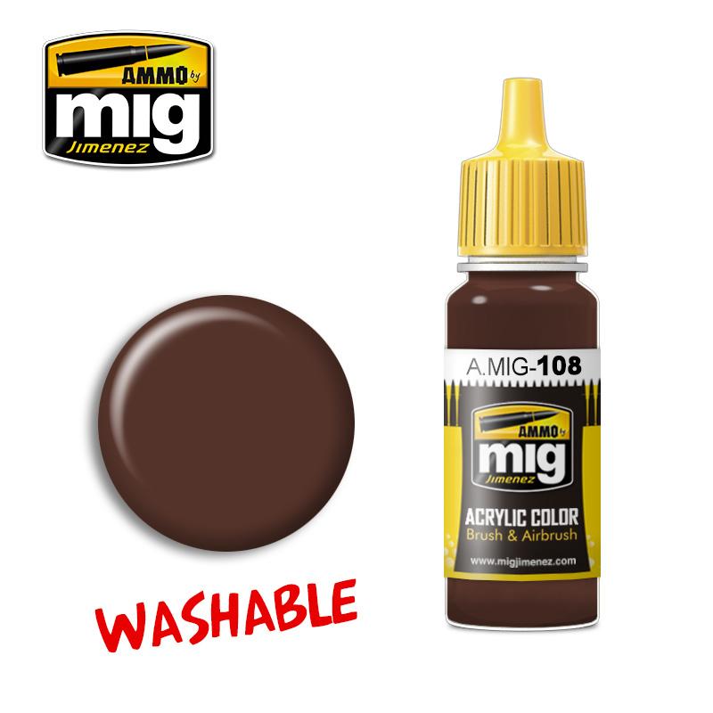 Ammo by Mig Jimenez Washable Mud - 17ml - A.MIG-0108