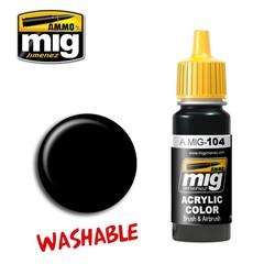 Washable Black - 17ml - A.MIG-0104