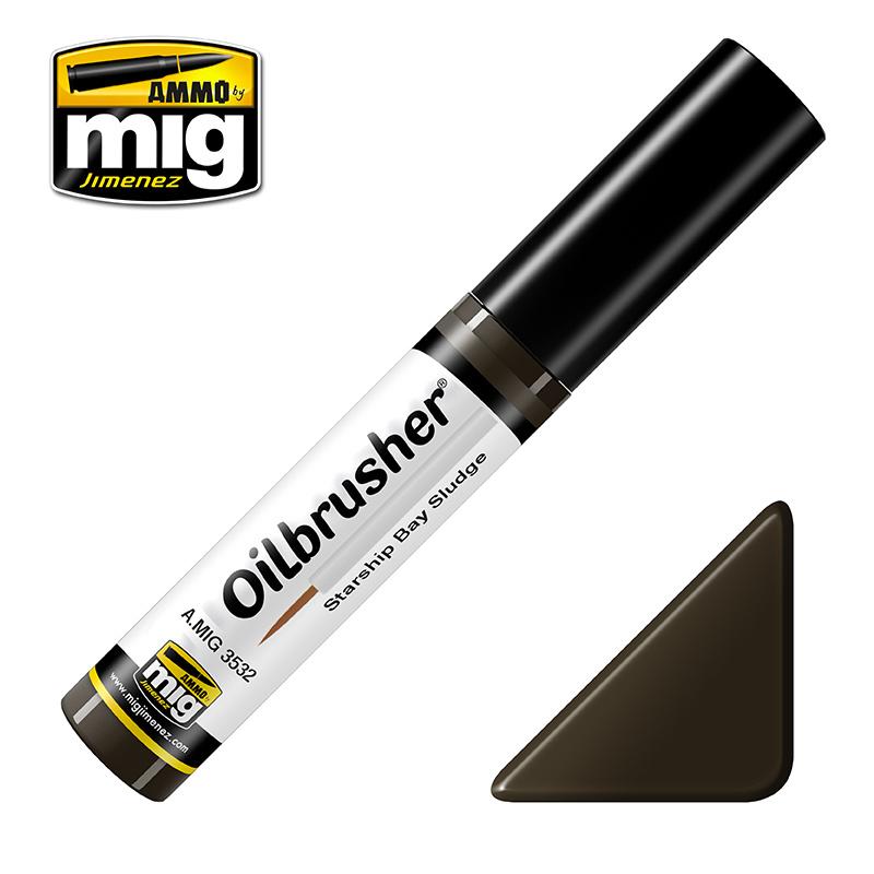 Ammo by Mig Jimenez Oilbrusher - Starship Bay Sludge - A.MIG-3532