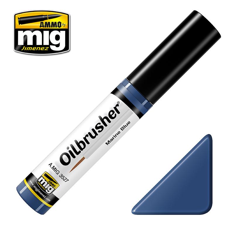 Ammo by Mig Jimenez Oilbrusher - Marine Blue - A.MIG-3527