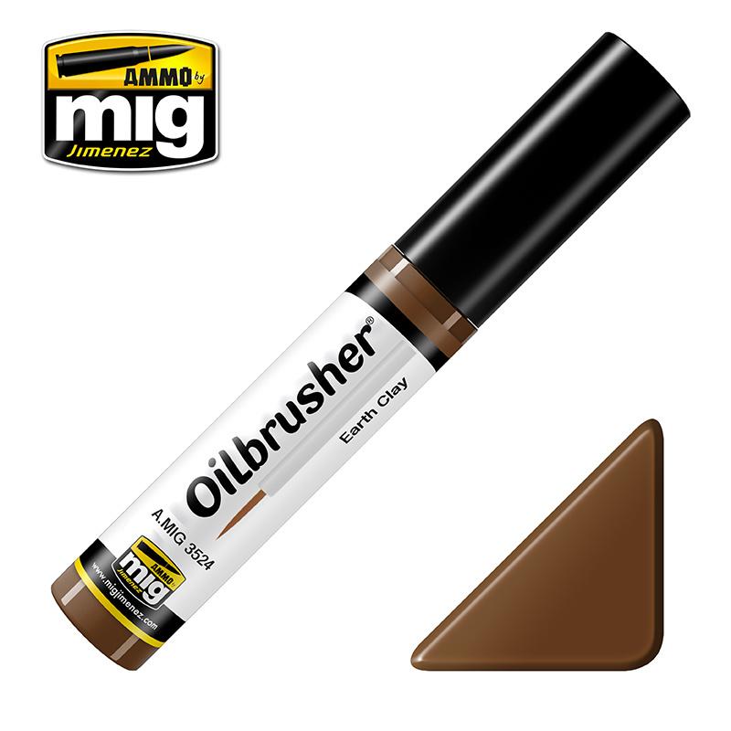 Ammo by Mig Jimenez Oilbrusher - Earth Clay - A.MIG-3524